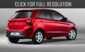 2017 Ford Ka Plus - price, dimensions, versions