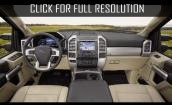 2017 Ford Super Duty interior #2