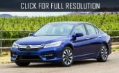 2017 Honda Accord Hybrid - specifications, new salon, redesign