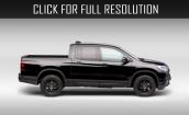 2017 Honda Ridgeline Black edition #2