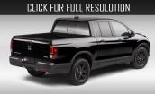 2017 Honda Ridgeline Black edition #3