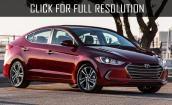 2017 Hyundai Elantra sedan #1