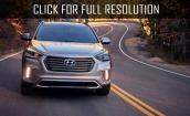 2017 Hyundai Grand Santa Fe - improved desing, new engine, interior
