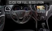2017 Hyundai Grand Santa Fe interior #1