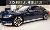 2017 Lincoln Continental concept #1