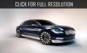 2017 Lincoln Continental concept #2