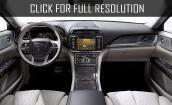 2017 Lincoln Continental interior #1