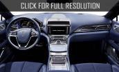 2017 Lincoln Continental interior #2