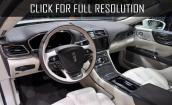 2017 Lincoln Continental interior #4