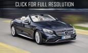 2017 Mercedes Amg S65 cabriolet #3