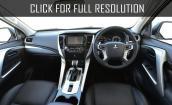 2017 Mitsubishi Pajero Sport interior #1