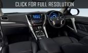 2017 Mitsubishi Pajero Sport interior #3