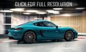 2017 Porsche 718 Cayman - technical specifications, acceleration