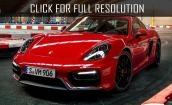 2017 Porsche Cayman gts #1
