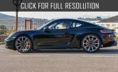 2017 Porsche Cayman s #1