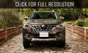 2017 Renault Alaskan - tech specs, premiere, changes