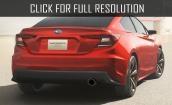 2017 Subaru Impreza sedan #4