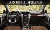 2017 Toyota 4runner interior #2