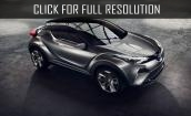 2017 Toyota C-HR - new design, interior, exterior