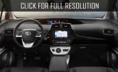 2017 Toyota Prius interior #1