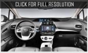 2017 Toyota Prius interior #2