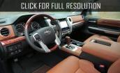 2017 Toyota Sequoia interior #4
