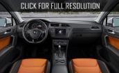 2017 Volkswagen Tiguan interior #2