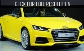 Audi TTS Roadster 2015 - changes, specs, convertible, price