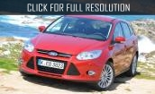 Red Ford focus #1