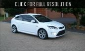 White Ford focus #2