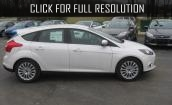 White Ford focus #3