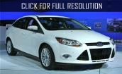 White Ford focus #4